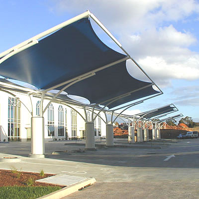 shade structures for parking lots