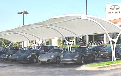 parking shade structures specifications