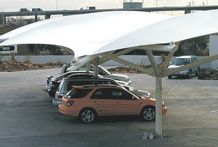 parking shade structures modern